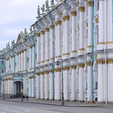 Building of Hermitage and Winter Palace in St. Petersburg Royalty Free Stock Photography