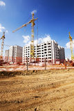 Building  high-rise construction Royalty Free Stock Photography
