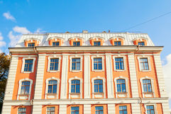 Building of the Higher School of Folk Arts at Griboyedov Canal embankment in St Petersburg, Russia Royalty Free Stock Photography