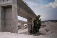 Building highway 6 stock image