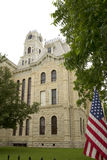 Building Hill County Courthouse exterior Royalty Free Stock Photography