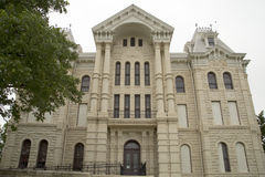 Building Hill County Courthouse in TX. Historic building Hill county Courthouse .It build in 1890, TX USA Stock Photo