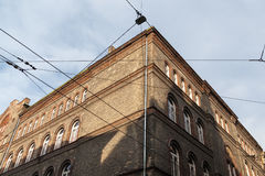 Building in the historic center of Budapest Royalty Free Stock Images