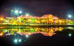 Building Hoi An. Hoai River - Hoi An City, Viet Nam Stock Images