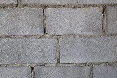 Building Hollow brick walls  image closeup texture Royalty Free Stock Photography