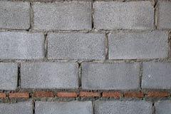 Building Hollow brick walls Stock Photography