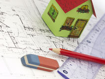 Building home concept Stock Photography