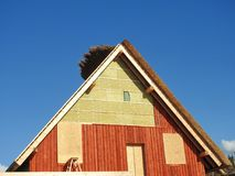 Building home, Lithuania Stock Images