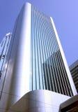 Building in Hong Kong. Skyscraper in downtown Hong Kong royalty free stock image