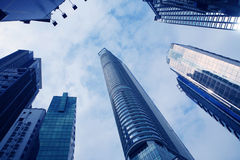 Building in hongkong Stock Photography
