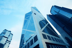 Building in hongkong Royalty Free Stock Photography