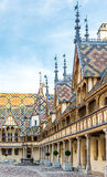 Building of Hospices de Beaune Royalty Free Stock Photos