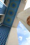 Building of hotel. With columns, Tashkent, Uzbekistan Royalty Free Stock Image