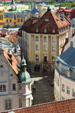 Building of hotel Barons in the center of Tallinn, Estonia Royalty Free Stock Photos
