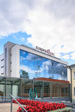 The building of Hotel Europa Royale Druskininkai Stock Images