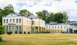 The building of Hotel Europa Royale Druskininkai Stock Photography