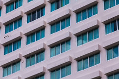 Building hotel with modern architecture Stock Images
