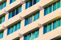 Building hotel with modern architecture Stock Photos