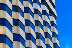 Building hotel with modern architecture Royalty Free Stock Photos