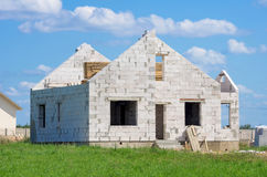 Building a house Royalty Free Stock Photography