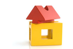 Building house Royalty Free Stock Images