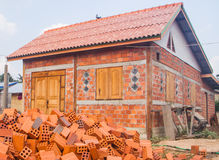 Building house Royalty Free Stock Photos