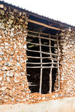 Building house in Africa Royalty Free Stock Photography