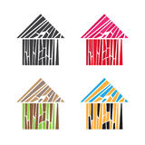 Building house home illustration Royalty Free Stock Photo