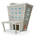 Building House With Offices Or Apartments Royalty Free Stock Photo