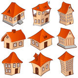Building house set Royalty Free Stock Photo
