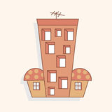 Building house theme elements,eps. Vector illustration file Stock Photography