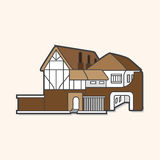 Building house theme elements,eps Stock Images