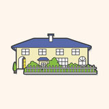 Building house theme elements,eps. Vector illustration file Royalty Free Stock Photography