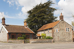 Building, Houses, Traditionsl, Weybourne, Norfolk Royalty Free Stock Image