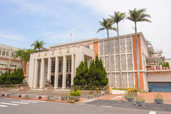 The Building of Hsinchu City Council. Front view of Hsinchu City Council Royalty Free Stock Photo
