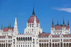 Building of the Hungarian parliament Royalty Free Stock Photography