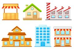 Building Icon Stock Photos