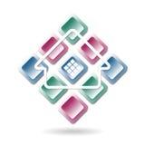 Building icon Stock Photo