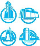Building icon stock images