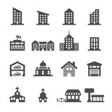 Building icon set 3, vector eps10 Stock Images