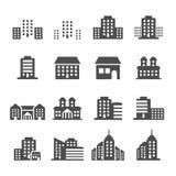 Building icon set 4, vector eps10 Stock Photos