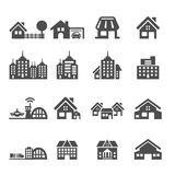 Building icon set 5, vector eps10 Stock Photography