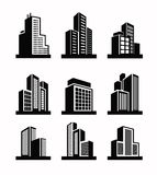Building icon Stock Photo