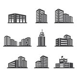 Building icon Stock Photography