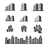 Building icon Royalty Free Stock Image