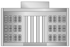 Building icon Royalty Free Stock Images