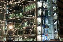 Building illuminated Royalty Free Stock Images
