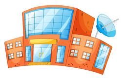 Building. Illustration of an isolated building Stock Images