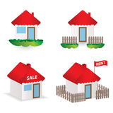 Building illustrations Royalty Free Stock Photo
