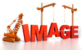 Building a Image Royalty Free Stock Photos